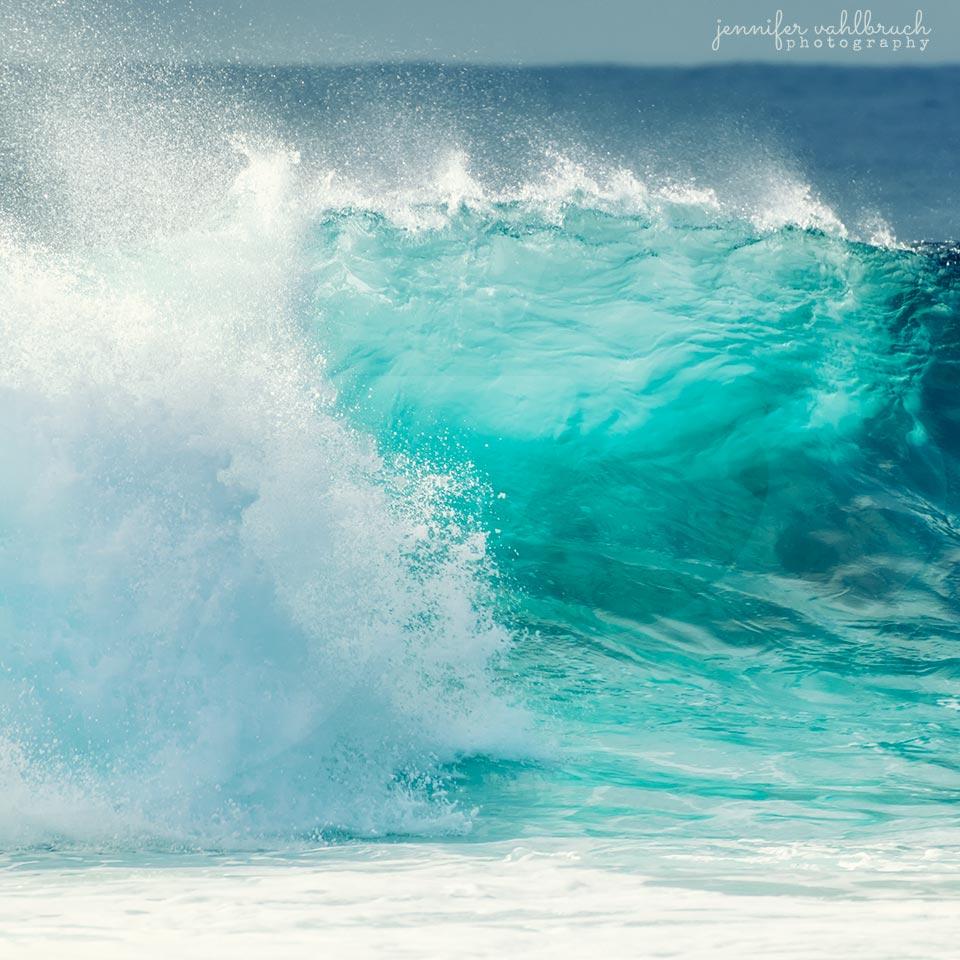 Sparkling Wave - Big Island, Hawaii
