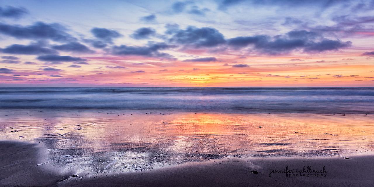 Sunset Glory - Torrey Pines, California