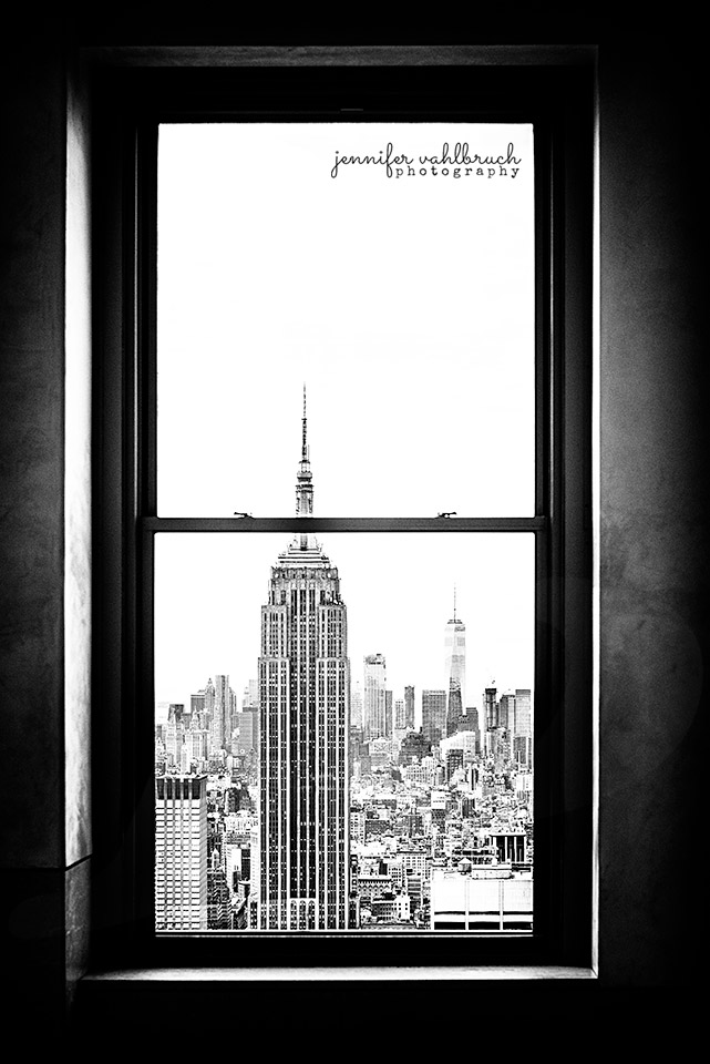 Window to Empire - New York City, USA